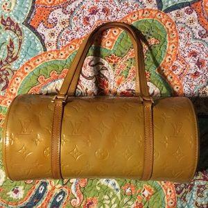 Louis Vuitton Monogram Mango Vernis Bedford Bag